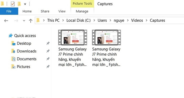 Cách chụp ảnh quay phim màn hình windows 10 nhanh nhất