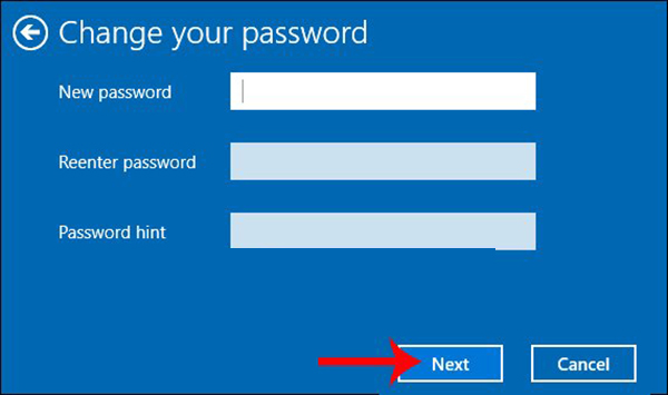 Cách cài mật khẩu cho máy tính window 10