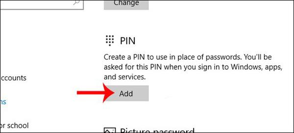 Hướng dẫn cách cài mật khẩu cho máy tính window 10