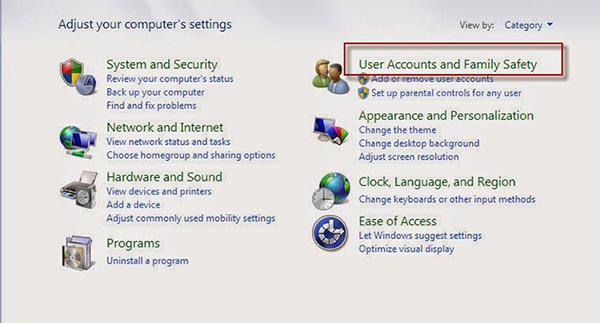 Cách cài mật khẩu cho máy tính sử dụng window 7