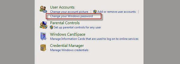 Hướng dẫn cài mật khẩu cho laptop, pc window 7