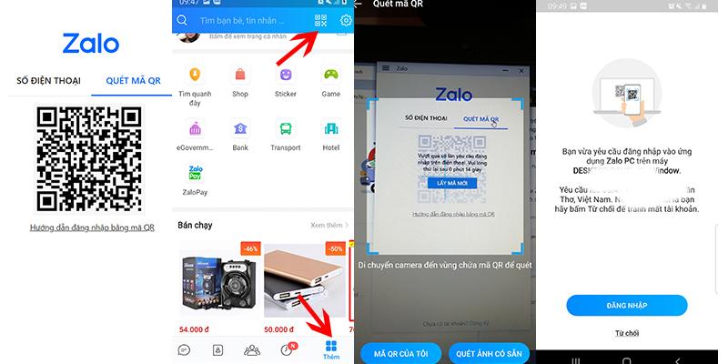 Hướng dẫn cách đăng nhập Zalo trên máy tính, pc, laptop